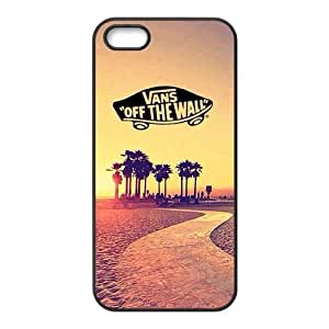 """BESTER WEIWEI Vans """"off the wall"""" fashion cell phone case for iPhone 5S"""