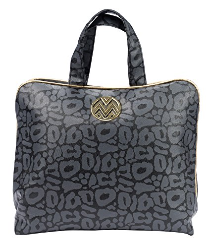 Runway Tote Organizer - Danielle Macbeth Sasha Onyx Collection Glam Cosmetic Bag