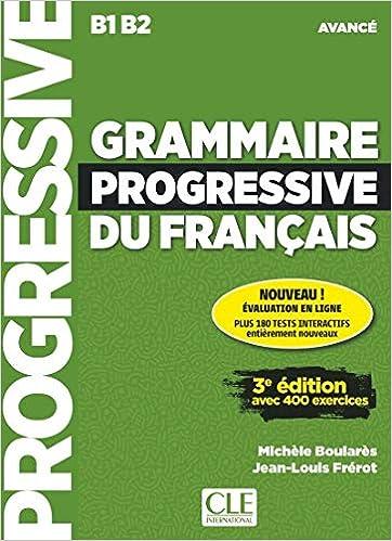 Amazon Com Grammaire Progressive Du Francais Nouvelle