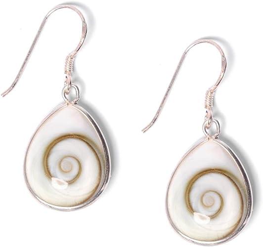 Women/'s 925 Silver Geometric Drop Dangle Earrings Jewelry Vintage Hook Eardrop