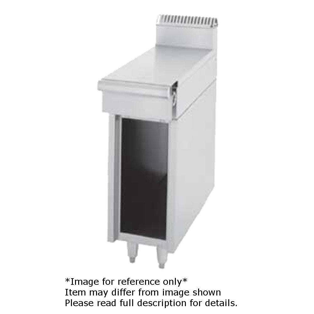 Garland C836-36-0 Cuisine Series Heavy Duty 36'' Spreader Cabinet with Stainless Steel Work Top & Open Cabinet Base