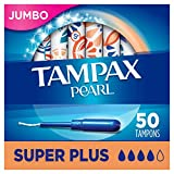 Tampax Pearl Tampons Super Plus Absorbency with
