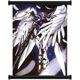 "Gundam Wing Wing Zero Anime Fabric Wall Scroll Poster (16"" x 21"") Inches"