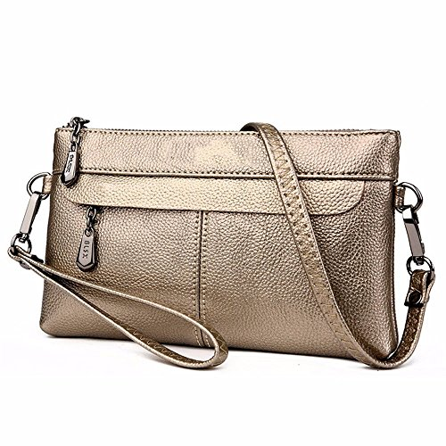 Dama Bronce black Bolsa Sobre De 4cm Casual Bag 15 27 Messenger Hombro Moda Cartera La Color ZxAIq4Sp