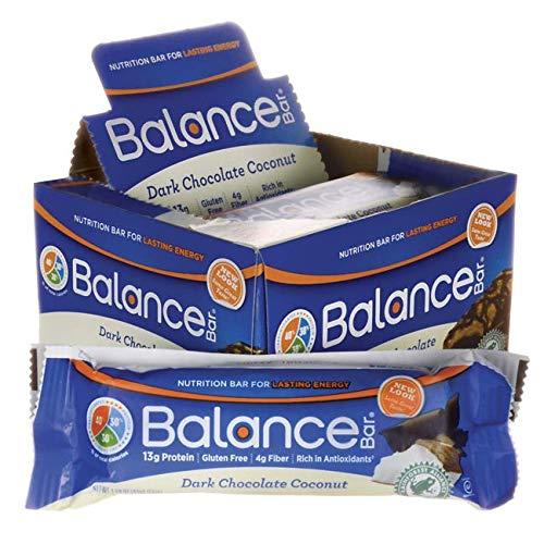 Caramel Balance Blast Nut Bar (Balance Bar Cocnt Dk CHC Size 6ct Balance Bar Coconut Drk Choc 1.58z)