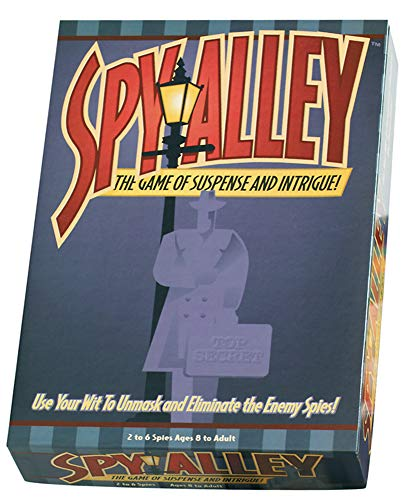 - Spy Alley Mensa Award Winning Family Strategy Board Game