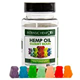 #7: Hemp Oil Gummies 30 Count, 20mg per Gummy Bear by Intrinsic Hemp, Pure Naturally Occurring Hemp, Non-GMO from Organic Hemp Seed Oil