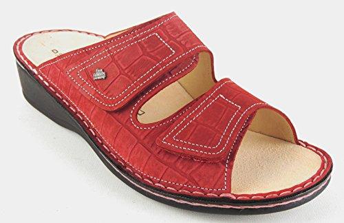 rosso 38 donna Finn Zoccoli Rosso Rosso Comfort zIqCC6