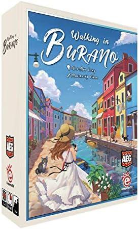 Alderac Entertainment 7067 Walking in Burano - Juego de Mesa (Contenido en alemán): Amazon.es: Juguetes y juegos