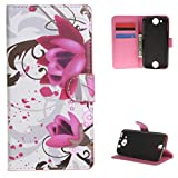 For Acer Liquid Jade Z Case , TUTUWEN 26 Wallet Beautiful Magnetic Card Slot PU Leather Flip Stand Protective Case Cover for Acer Liquid Jade Z (5.0