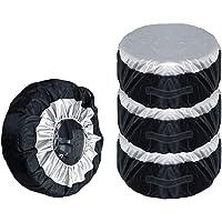 Vosarea bandenhoes, stofdicht, wielbeschermhoes, uv-bescherming, 65 cm, 4 stuks