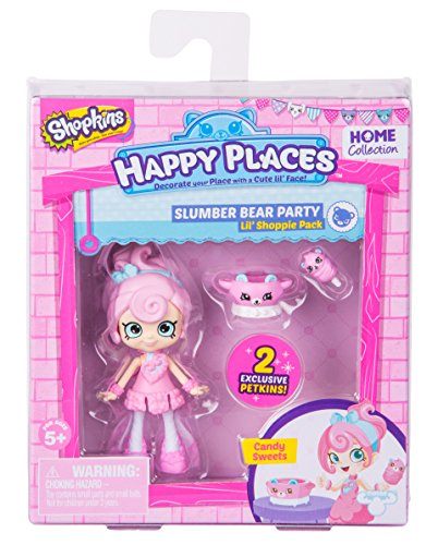 - Happy Places Shopkins Season 2 Doll Single Pack Candy Sweets