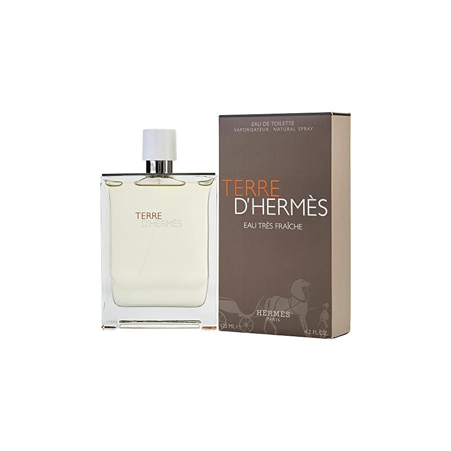 TERRE D'HERMES by Hermes EAU TRES FRAICHE EDT SPRAY 4.2 OZ for MEN (Package of 6 )