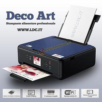 Impresora Alimentos Deco Art - Nera - Escáner - A4 - Bandeja ...