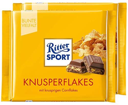 (Ritter Sport Cornflakes Chocolate Bar Candy Original German Chocolate 100g/3.52oz (Pack of 2))