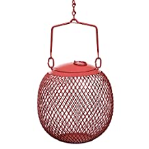 No/No Feeders Red Seed Ball Wild Bird Feeder