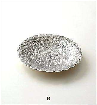 プレート トレー トレイ 真鍮 小物 皿 ゴールド シルバー レトロ おしゃれ アンティーク アクセサリートレイ 卓上 収納 小物