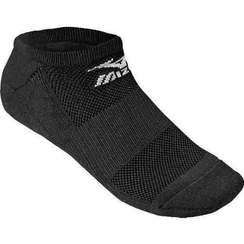 Mizuno No Show Performance Socks (Black, Small)
