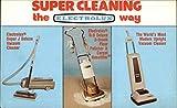 Vintage Advertising Postcard: Electrolux Vacuum Cleaners...