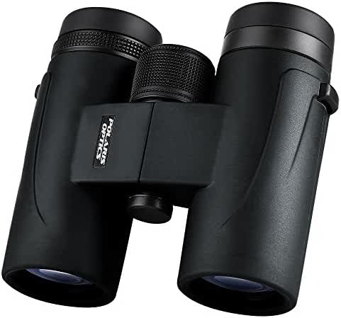 Polaris Optics WingSpotter HD 8X32 Compact Bird Watching Binoculars. With Extra-Wide Field of View. Phase Correction Provides Vibrant Color, Clarity, and Brightness Close Up and Far Away. Waterproof