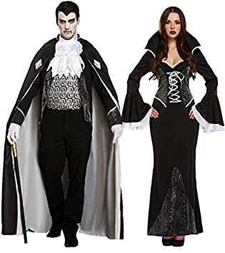 MFD V&ire Couple  sc 1 st  Amazon UK : couples vampire costumes  - Germanpascual.Com
