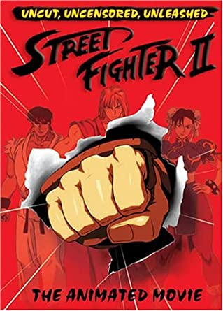 Amazon.com: Street Fighter II: The Animated Movie by K??jiro ...