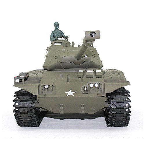 (1/16 Scale Remote Control RC Tank, 2.4Ghz Henglong 1/16 Scale 6.0 Generation Plastic Walker Bulldog RTR RC Tank Model 3839 BB Shooting Function and Infrared Battle System)