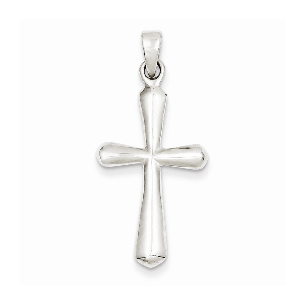 Sterling Silver Cross Pendant Best Quality Free Gift Box