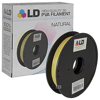 LD Natural 1,75 mm 0,5 kg PVA Filamento de impresora 3d: Amazon.es ...