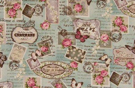 Feedsack Canvas Fabric European French Linen Blend Fabric
