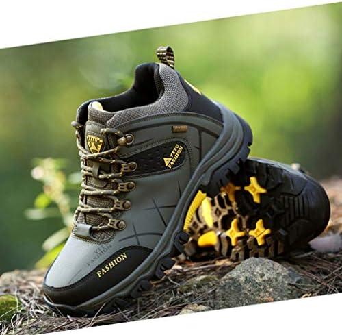 トレッキングシューズ メンズ 防水 防滑 ハイカット ハイキングシューズ 大きいサイズ 通気性 軽量 登山靴 メンズ ハイキングブーツ 耐磨耗 衝撃吸収 ウォーキングシューズ アウトドア 山歩き/里歩き/登山道