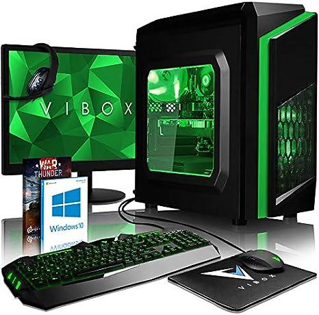 VIBOX FX-51 - Ordenador de sobremesa Gaming (USB, AMD, RAM de 8 GB ...