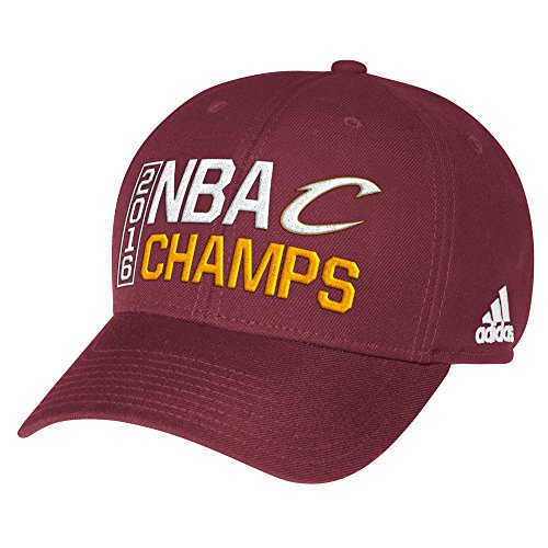 NBA Cleveland Cavaliers Men's 2016 Champions Structured Adjustable Cap, One Size, ()