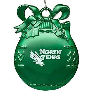Amazon.com: University of North Texas - Pewter Christmas Tree ...