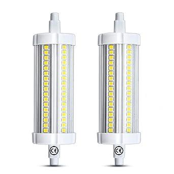 118mm 15w Bonlux Type Pcs R7s J118 Réflecteur Led 2 Ampoule Linéaire CxdrBoe