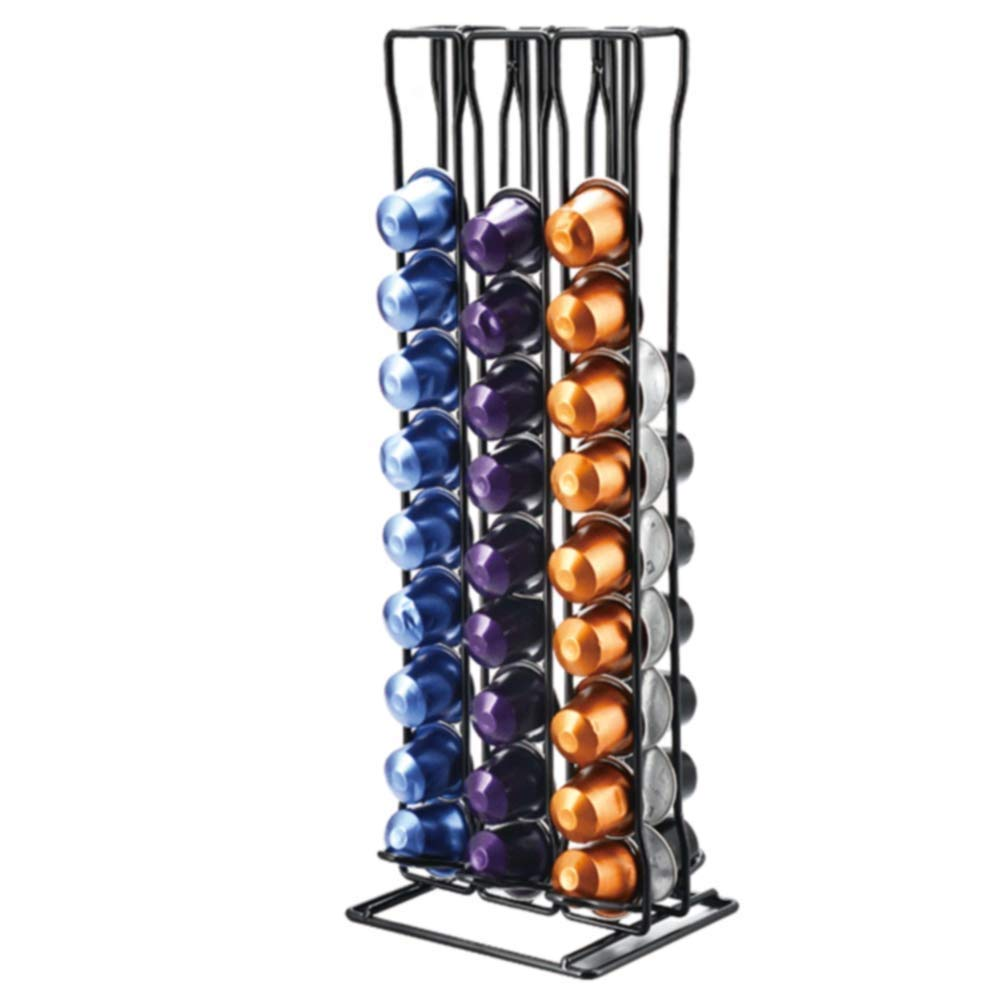 Tassimo pod holder,Coffee pod holders,60pc Coffee Capsule Holder - Compatible With Nespresso Capsules Bac bac