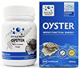 New Zealand Oyster Extract Powder - Zinc Supplement for Men and Women - Supports Immune Health, Energy and Nerve Function w/ Green Lipped Mussel - 500mg x 100 Capsules