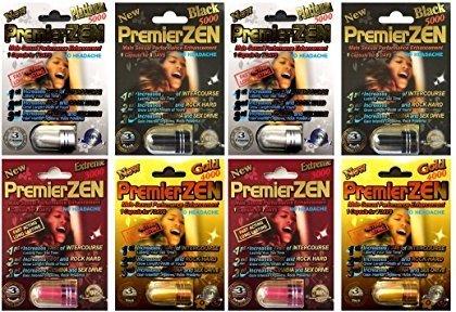 (PremierZEN Platinum 5000mg Male Sexual Performance Enhancement 100% Authentic Variety Pack)
