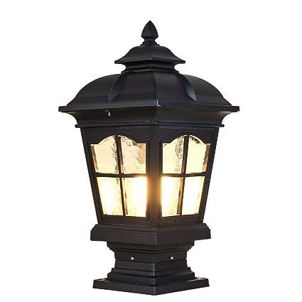 Amazon.com: WG Market The Stylish Extra Large Solar Post Cap Lights Or  Solar Pillar,Solar Lights/Outdoor Landscape Lighting/Garden Lighting/LED  Solar Post ...