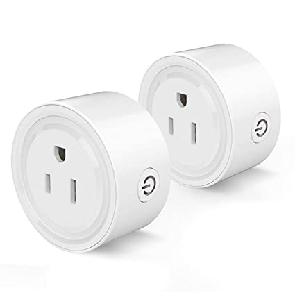 b549ed7c4f Smart Plug Compatible with Alexa, Smart Life Wifi Smart Socket Compatible  with Echo, Google Home, Smart Home Devices, No Hub Required Wifi Mini Smart  ...