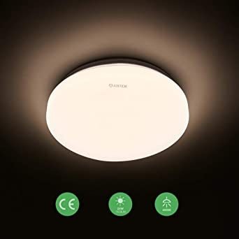 LED 6W Feuchtraumleuchte Kellerleuchte Aussen Leuchte Lampe IP 54 Keller Oval We