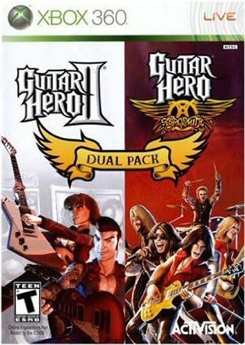 Guitar Hero Dual Pack! Guitar Hero II + Aerosmith [Importación Inglesa]: Amazon.es: Videojuegos