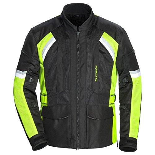 (Tourmaster Sonora Air 2.0 Jacket (X-LARGE) (BLACK/HI-VIZ))