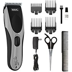 Wahl Easy Pro Pet Rechargeable Dog Grooming Kit - Quiet Low Noise Heavy-Duty Electric Dog Clipper for Dogs & Cats with Thick & Heavy Coats - Model 9549