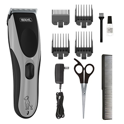 Wahl Easy Pro for Pets, Rechargeable Dog Grooming Kit - Quiet, Low Noise, Heavy-Duty Electric Dog Clippers for Dogs & Cats with Thick to Heavy Coats - Model 9549