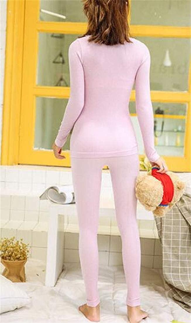 Macondoo Womens Warm Wicking Base Layer Seamless Thermal Underwear Sets