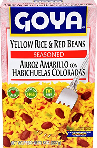 Goya Yellow Rice And Red Beans, 8-Ounce Units (Pack of (Goya Beans Rice)