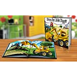Personalized Story Book by Dinkleboo -The Little Digger...