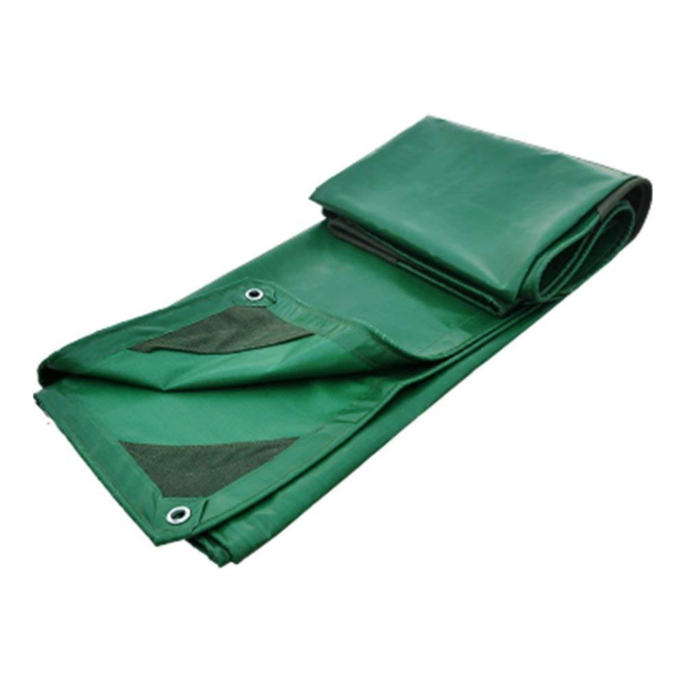 YINUO Silikon-Markisen-Sonnenschutz wasserdicht regendicht verdickt feuerfest grün Auto Markise Kunststoff Thatch Baumwolle Öl Canvas Plane