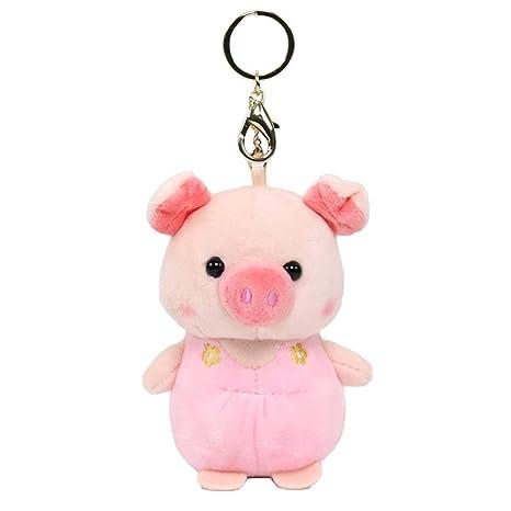 wiFndTu - Llavero con diseño de cerdo, color verde rosa rosa ...
